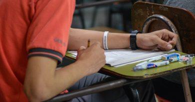 Sección de exámenes